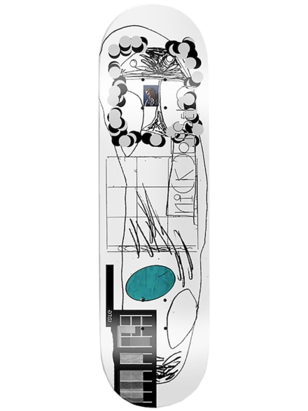 "Isle Scanner Series Jensen 8.375"" Skateboard Deck patroon"