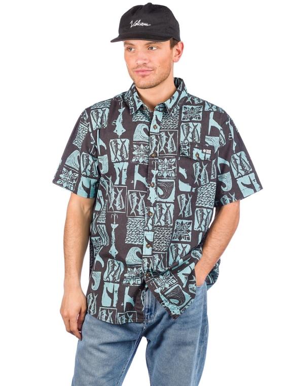 Salty Crew Cut Out Shirt zwart