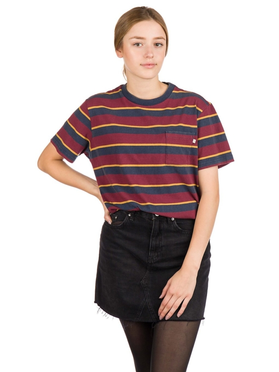 Brixton Kelley Pocket T-Shirt blauw