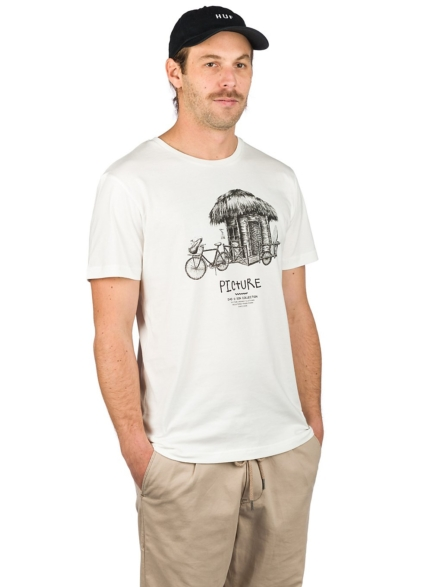 Picture Dad & Son Bike T-Shirt wit