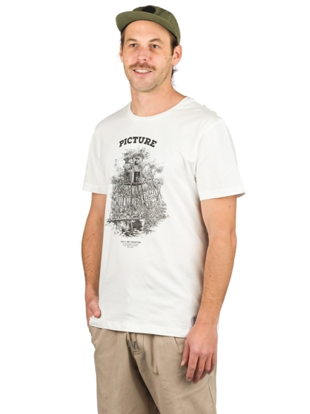 Picture Dad & Son Cabin T-Shirt wit