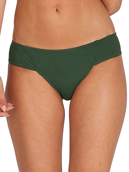 Volcom Simply Rib Cheeky Bikini Bottom groen