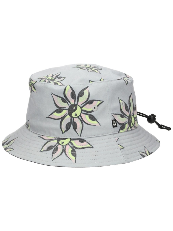 Volcom Burch Bucket hoed grijs
