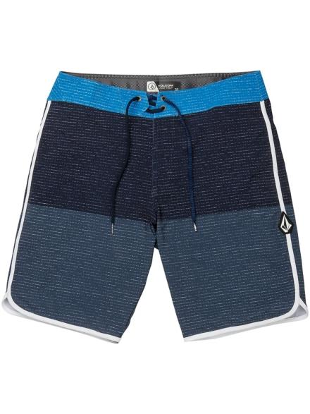 "Volcom Lido Scallop Mod 20"" Boardshorts blauw"