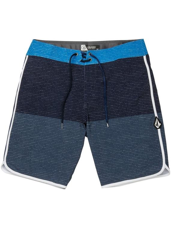 Volcom Lido Scallop Mod 20″ Boardshorts blauw