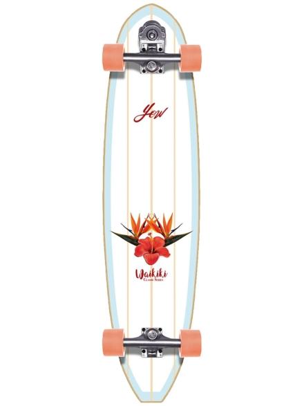 """YOW Waikiki 40.0"""" Classic Series Surfskate patroon"""