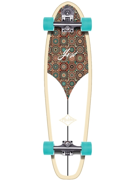 "YOW Malibu 36.0"" Classic Series Surfskate patroon"