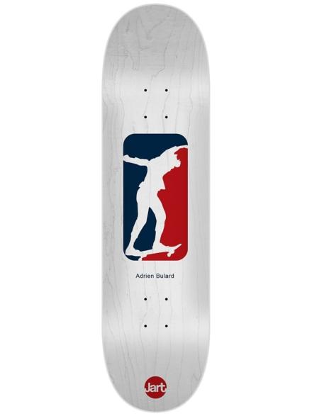 "Jart Cut Off Bulard 8.125"" Skateboard Deck patroon"