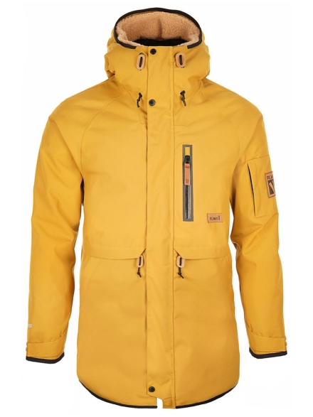 Planks The People's Parka geel