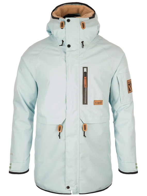 Planks The People's Parka blauw