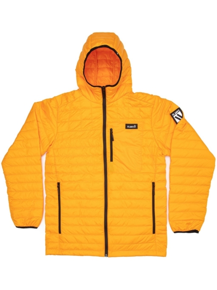 Planks Cloud 9 Insulator Fleece Ski jas geel