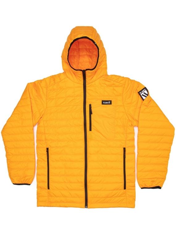 Planks Cloud 9 Insulator Fleece Ski jas geel