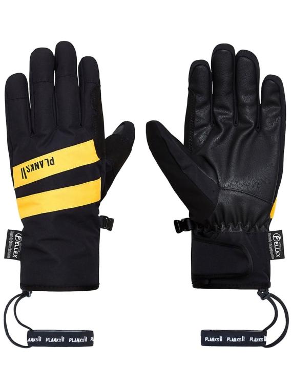 Planks Peacemaker Insulator handschoenen zwart