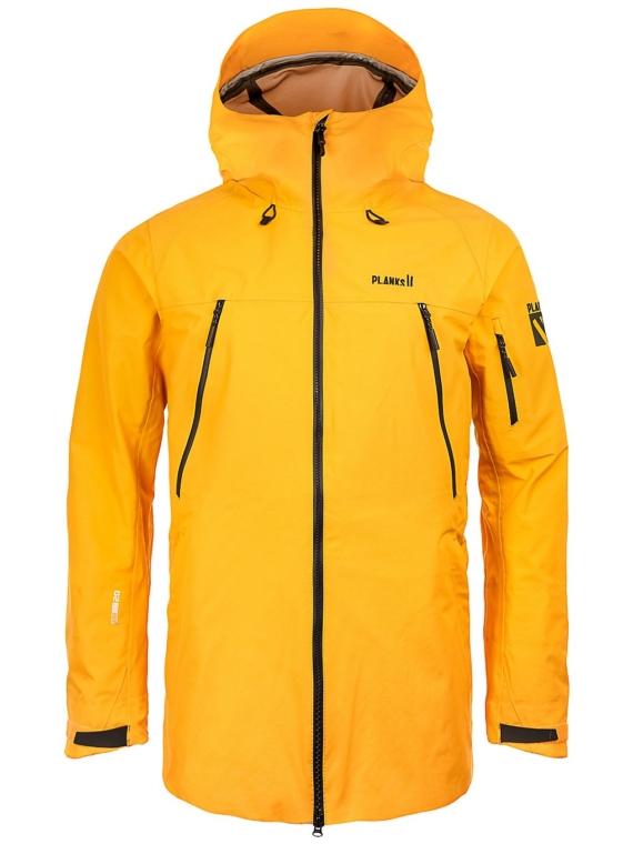 Planks Yeti Hunter Shell Ski jas geel