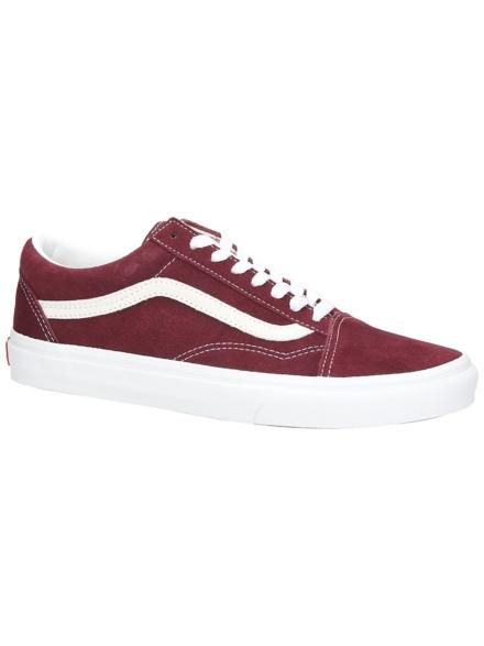 Vans Old Skool Suede Sneakers rood