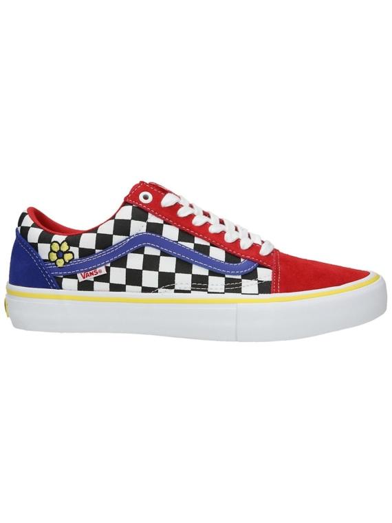 Vans Old Skool Pro Brighton Zeuner Skate schoenen rood
