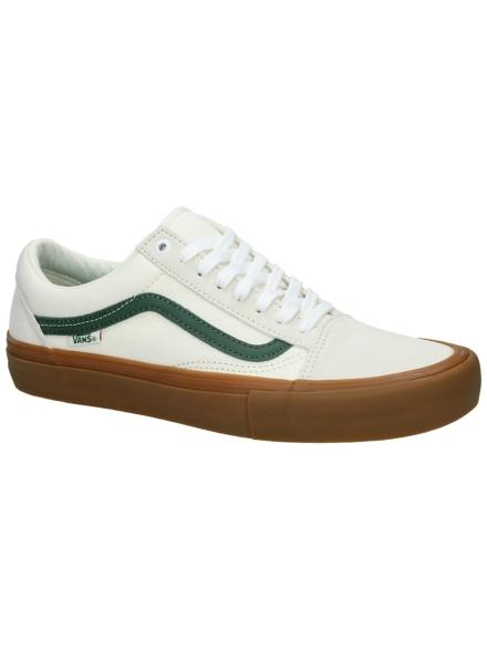 Vans Old Skool Pro Skate schoenen wit