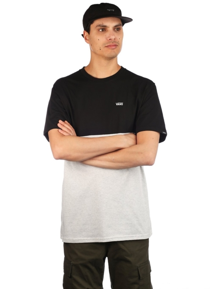Vans Colorblock T-Shirt grijs