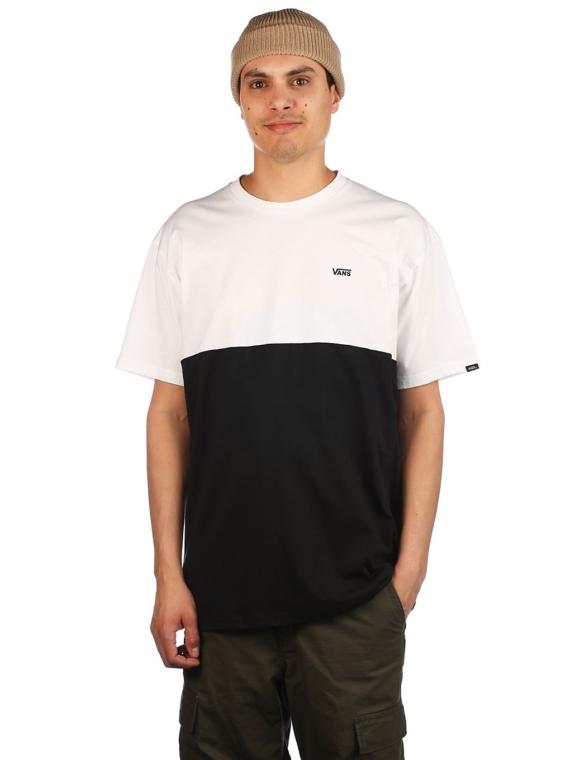 Vans Colorblock T-Shirt zwart