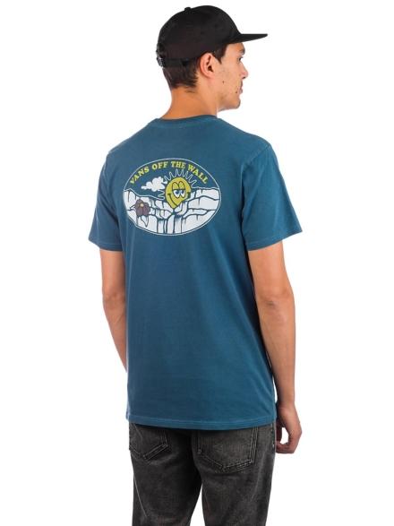 Vans Vintage Sun Faded T-Shirt blauw