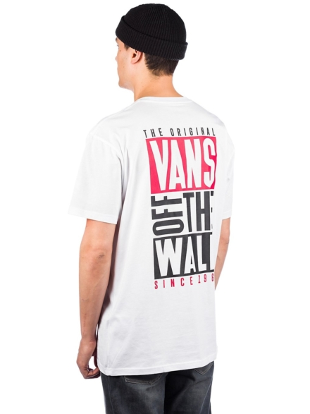 Vans New Stax T-Shirt wit