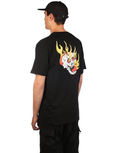 Vans Rowan Zorilla Skull T-Shirt zwart