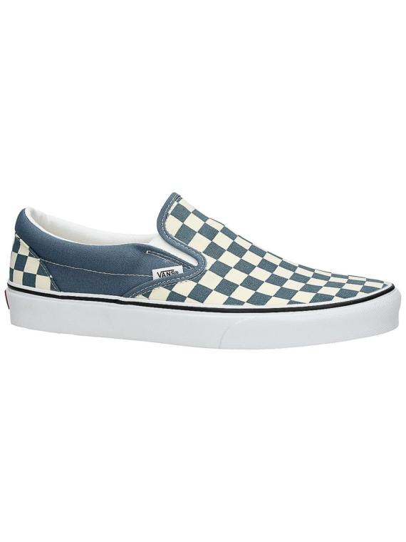 Vans Classic Checkerboard Slip-Ons blauw