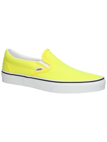 Vans Classic Neon Slip-Ons geel