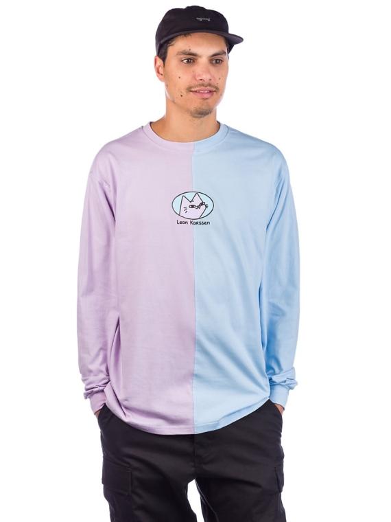 Leon Karssen Split Tobba Long Sleeve T-Shirt paars