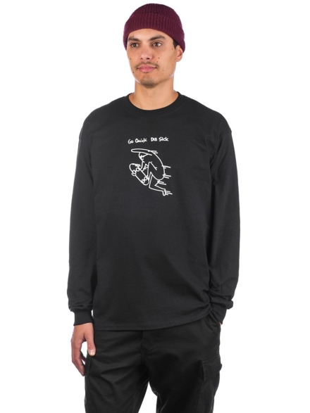 Leon Karssen Quick Long Sleeve T-Shirt zwart