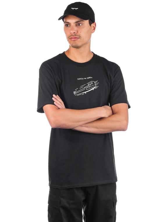 Leon Karssen Coffin T-Shirt zwart