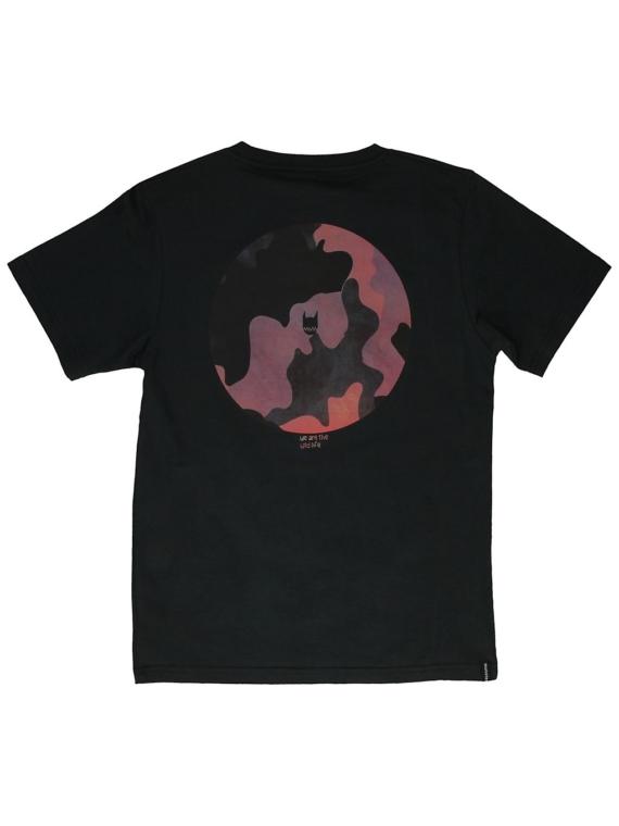 Munsterkids Camo Hole T-Shirt zwart