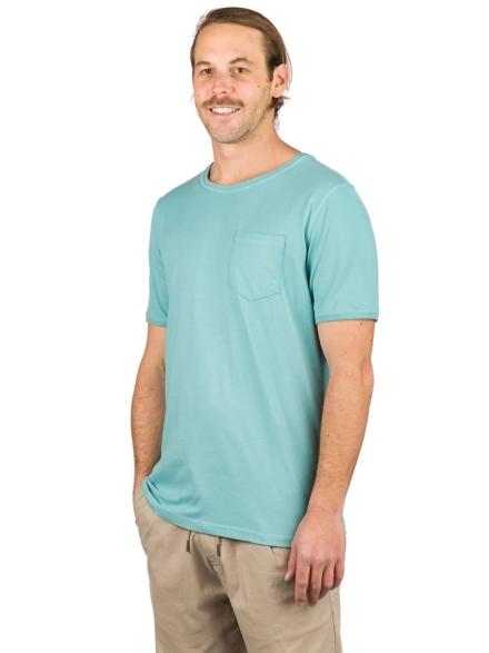 Kazane Moss T-Shirt blauw