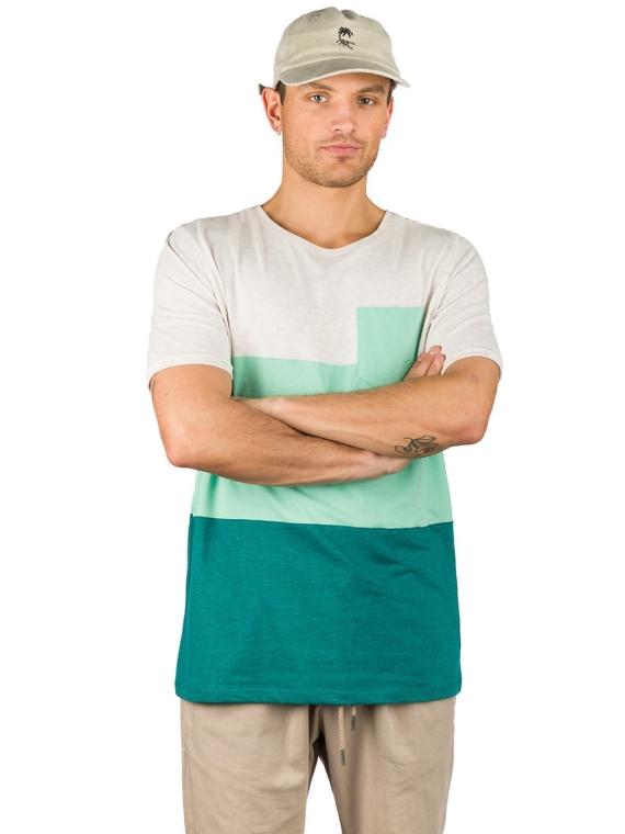 Kazane Barius T-Shirt blauw