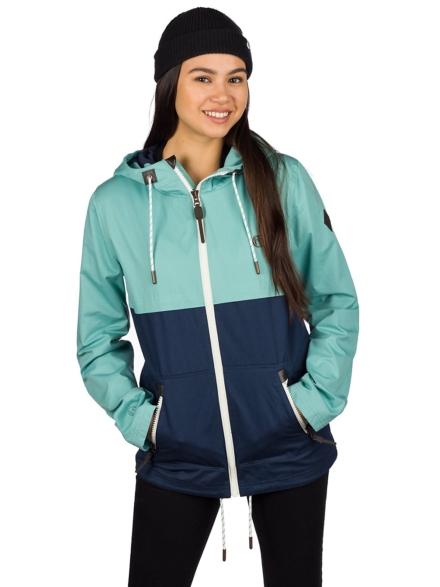 Kazane Naline Ski jas blauw