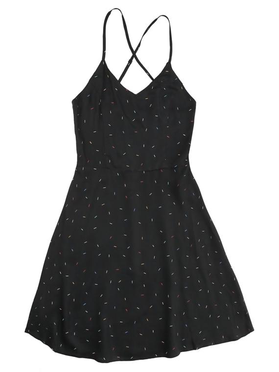 Kazane Nessa jurkje zwart
