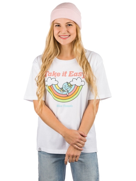 Blue Tomato Take It Easy T-Shirt wit