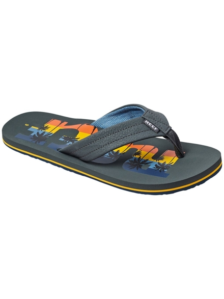 Reef Waters slippers grijs