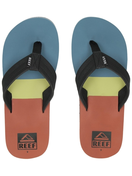 Reef TRI Waters slippers blauw