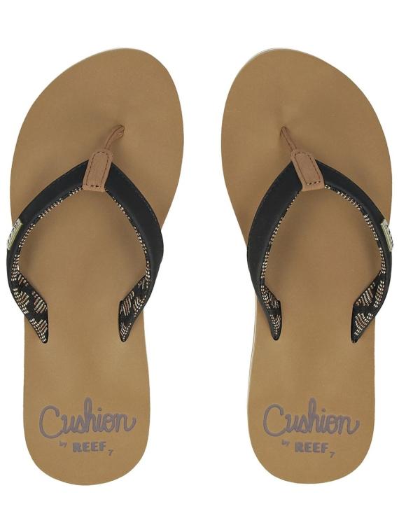 Reef Cushion Sands slippers zwart
