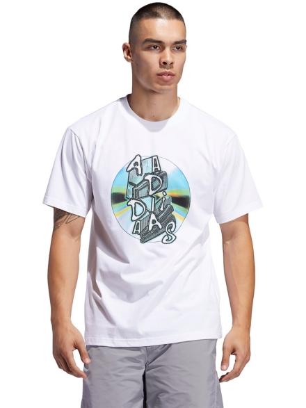 adidas Skateboarding Cd Cd T-Shirt wit