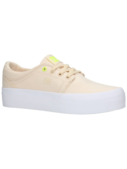 DC Trase Platform TX Sneakers bruin