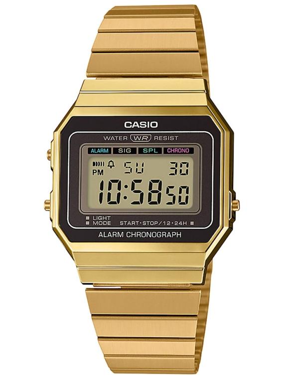Casio A700WEG-9AEF geel