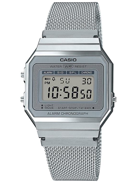 Casio A700WEM-7AEF grijs