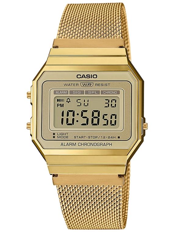 Casio A700WEMG-9AEF geel