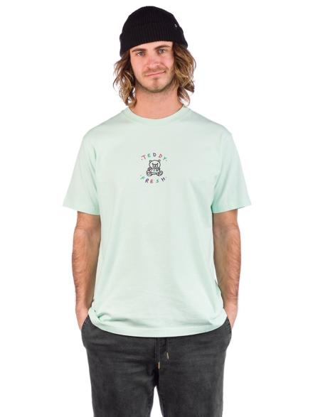 Teddy Fresh Embroidered T-Shirt blauw