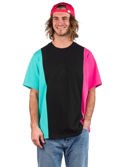 Teddy Fresh 3Panel T-Shirt zwart