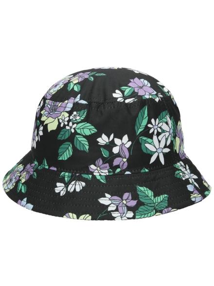 Empyre Juna Floral Bucket hoed zwart