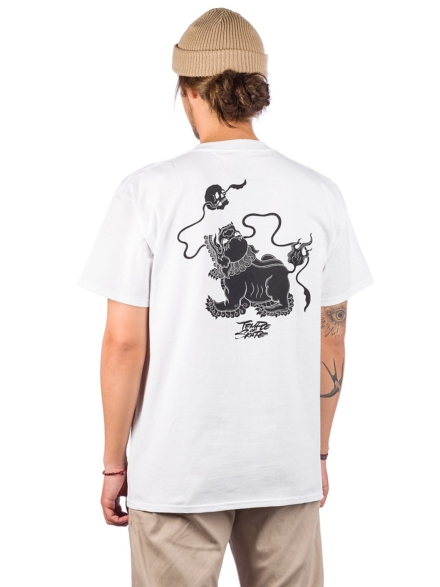 Temple of Skate Lion T-Shirt wit