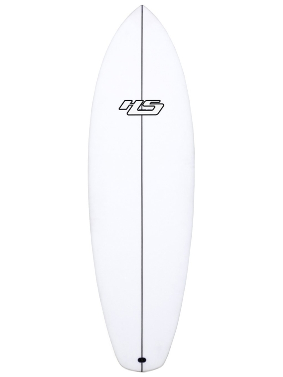 Haydenshapes Loot PU/Comp Stringer Futures 5'8 patroon